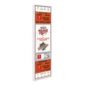 Minnesota Twins 1987 World Series Mega Ticket
