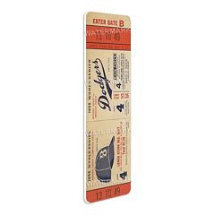 Brooklyn Dodgers 1955 World Series Mega Ticket