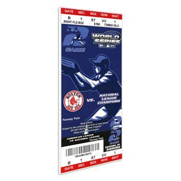 Boston Red Sox 2004 World Series Mini Mega Ticket