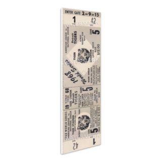 Detroit Tigers 1968 World Series Mini Mega Ticket