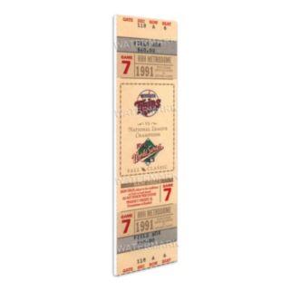 Minnesota Twins 1991 World Series Mini Mega Ticket