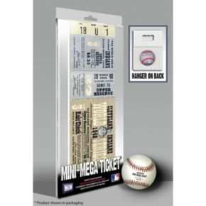 Cleveland Indians 1948 World Series Mini Mega Ticket