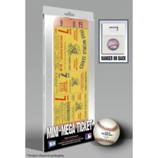 Pittsburgh Pirates 1960 World Series Mini Mega Ticket