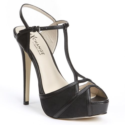 Exchange by Charles David Octavia Peep-Toe Platform High Heels - Women