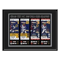 Chicago White Sox 2005 World Series Tickets To History Framed Print