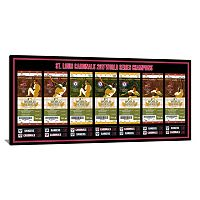 St. Louis Cardinals 2011 World Series Tickets To History Canvas Print
