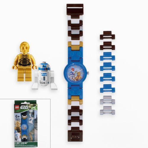 Star Wars C-3PO and R2D2 Watch Set by LEGO - 9001178 - Kids