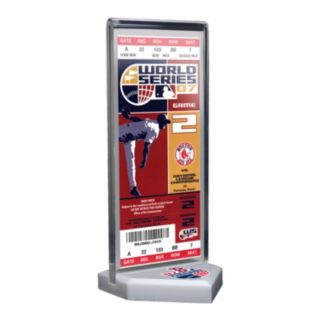 Boston Red Sox 2007 World Series Commemorative Ticket Desktop Display