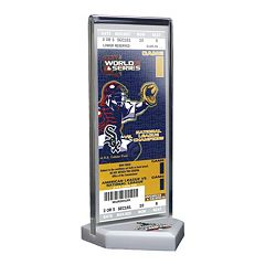 Chicago White Sox 2005 World Series Commemorative Ticket Desktop Display