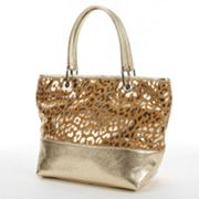 PAVA Animal Foil Leather Tote