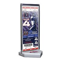 St. Louis Cardinals 2006 World Series Commemorative Ticket Desktop Display
