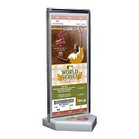 St. Louis Cardinals 2011 World Series Commemorative Ticket Desktop Display