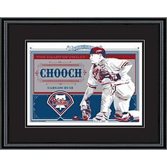 Philadelphia Phillies Carlos Ruiz Handmade LE Framed Screen Print By Sports Propaganda