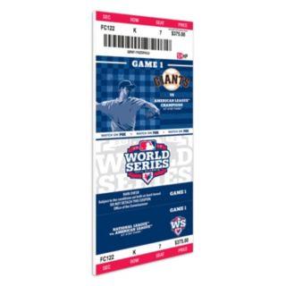 San Francisco Giants 2012 World Series Mega Ticket