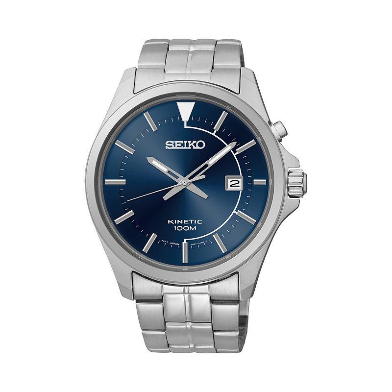 Seiko Kinetic Stainless Steel Watch - SKA581 - Men