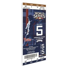 Philadelphia Phillies 2009 World Series Mega Ticket