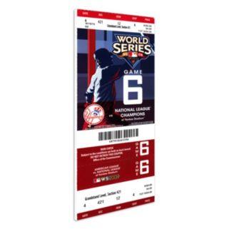 New York Yankees 2009 World Series Mega Ticket