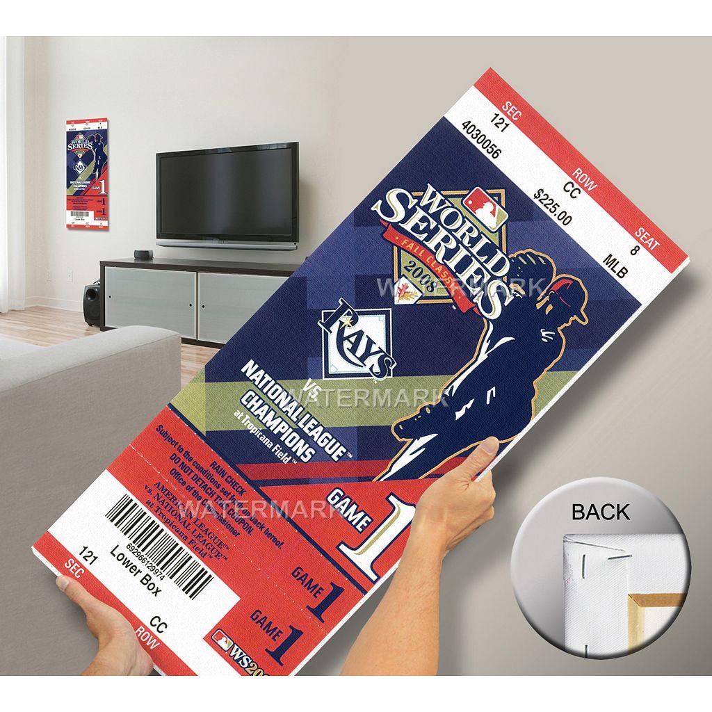 Tampa Bay Rays 2008 World Series Mega Ticket
