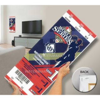 Tampa Bay Rays 2008 World Series Mega Ticket