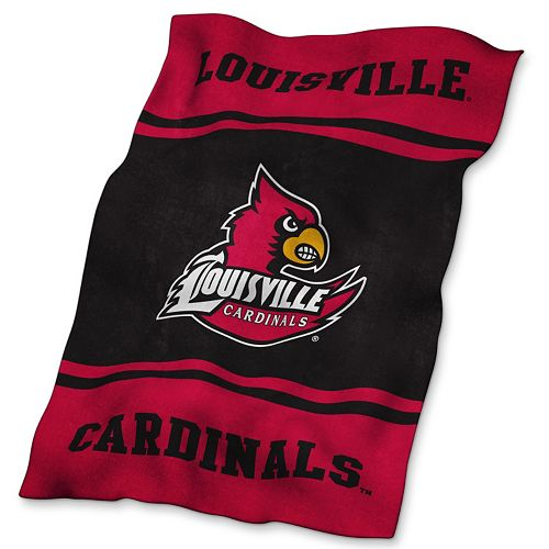 Louisville Cardinals UltraSoft Blanket