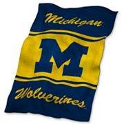 Michigan Wolverines UltraSoft Blanket