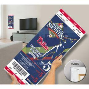 Philadelphia Phillies 2008 World Series Mega Ticket