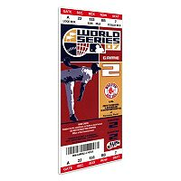 Boston Red Sox 2007 World Series Mega Ticket