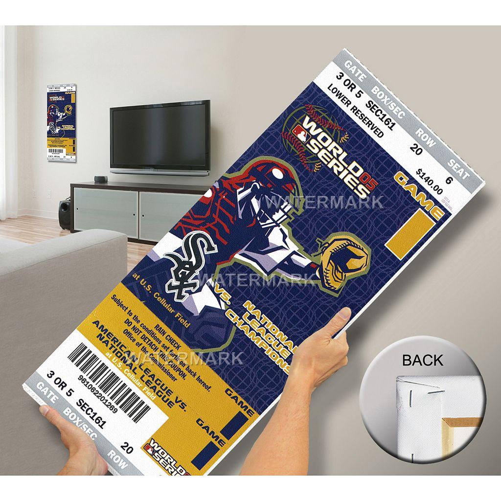 Chicago White Sox 2005 World Series Mega Ticket