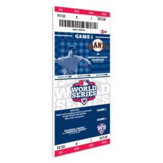 San Francisco Giants 2012 World Series Mini-Mega Ticket