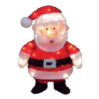 Santa Claus 18-in. Pre-Lit Outdoor Decor