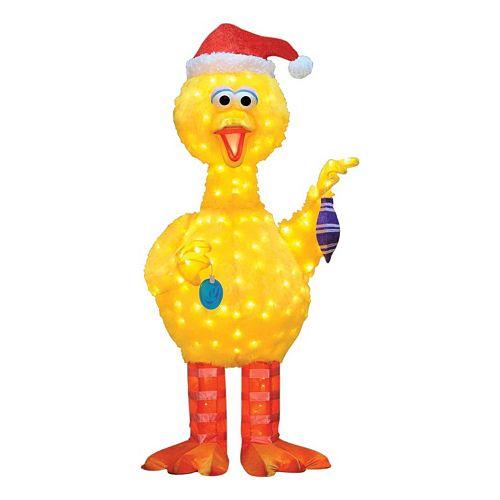 Sesame Street Big Bird 18-in. Pre-Lit Outdoor Decor