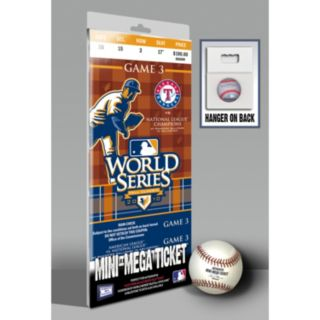 Texas Rangers 2010 World Series Mini-Mega Ticket