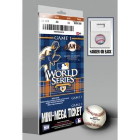 San Francisco Giants 2010 World Series Mini-Mega Ticket