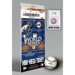 San Francisco Giants 2010 World Series Mini-Mega Ticket