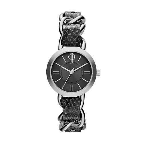 Jennifer Lopez Women's Snakeskin Leather Watch