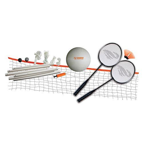 Triumph Beginner Badminton & Volleyball Set