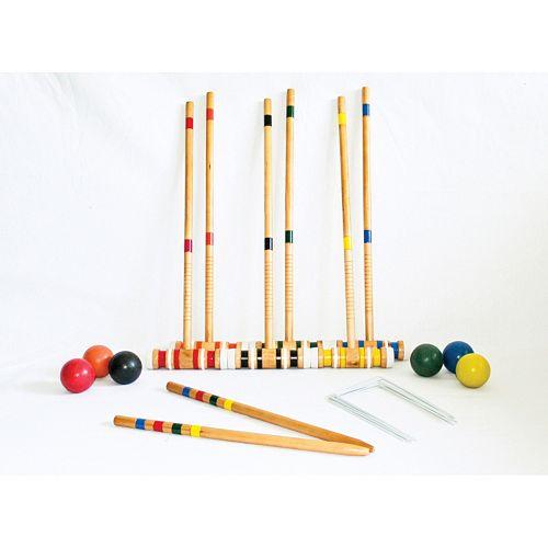Triumph 6-Player Croquet Set