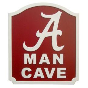 Alabama Crimson Tide Man Cave Shield Wall Art