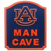 Auburn Tigers Man Cave Shield Wall Art