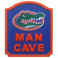 Florida Gators Man Cave Shield Wall Art