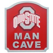 Ohio State Buckeyes Man Cave Shield Wall Art