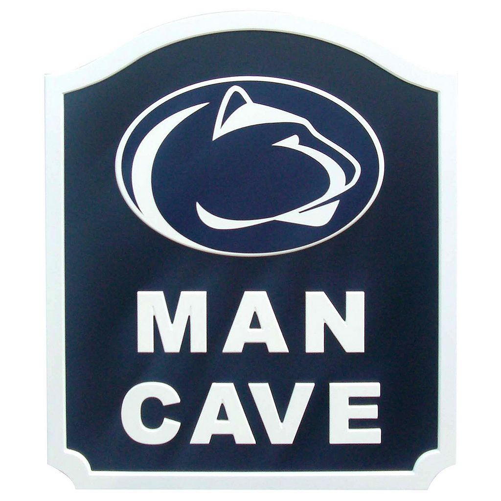Penn State Nittany Lions Man Cave Shield Wall Art