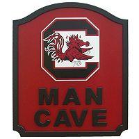 South Carolina Gamecocks Man Cave Shield Wall Art
