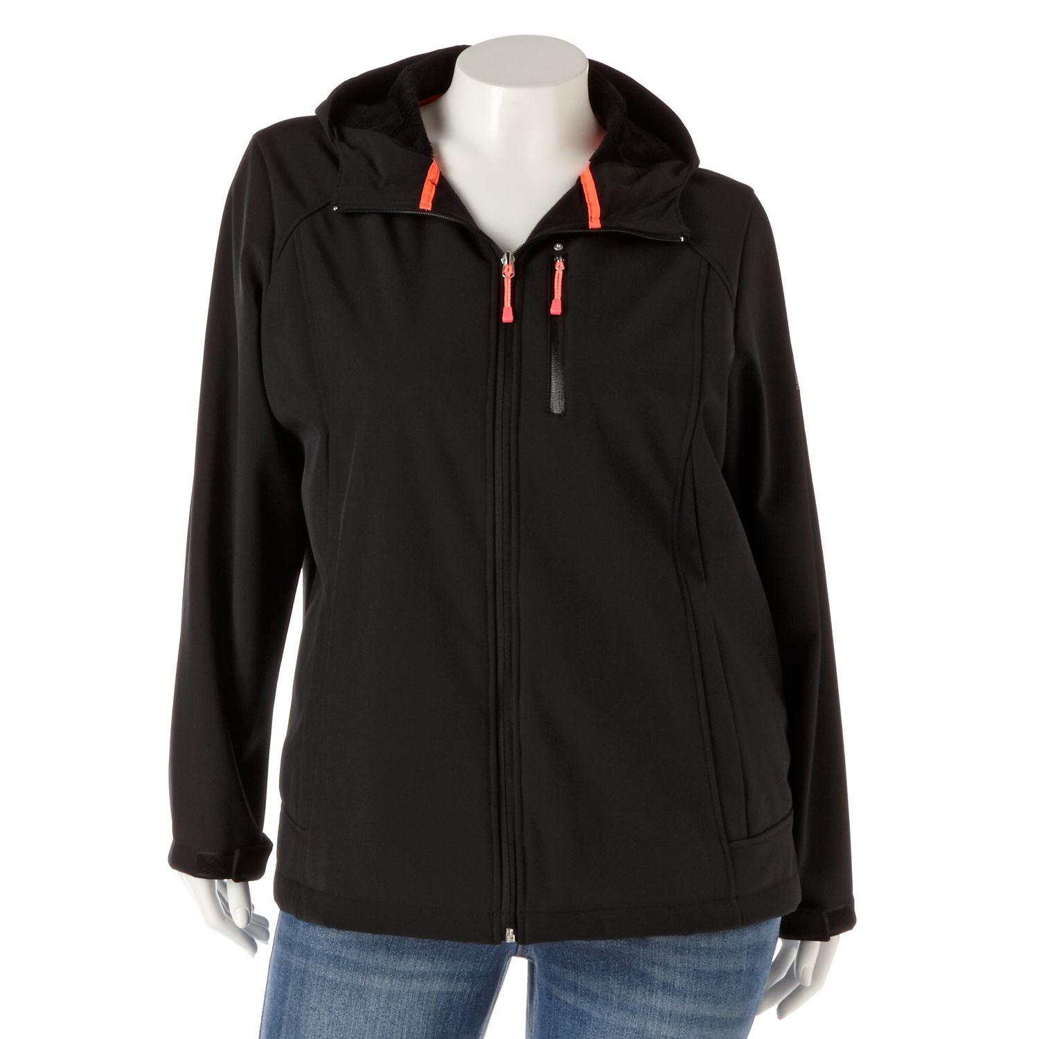 ZeroXposur Hooded Soft Shell Jacket - Women's Plus