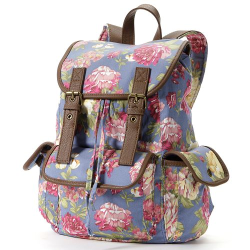 Candie's® Floral Backpack