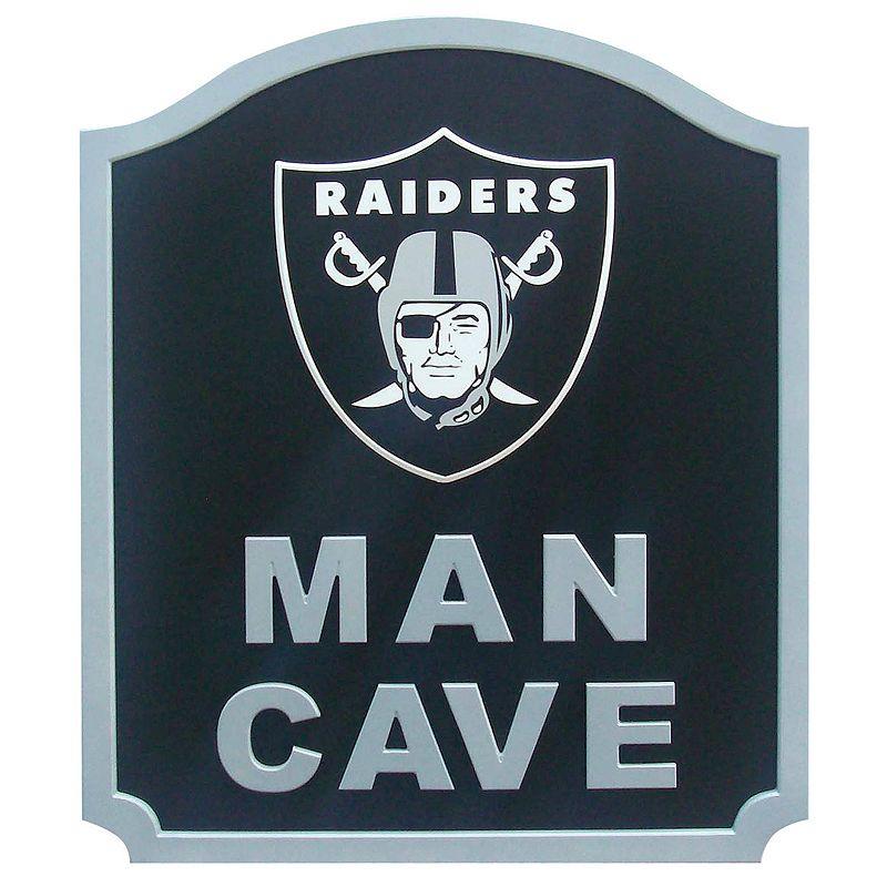 Man Cave Oakland : Oakland raiders decor kohl s