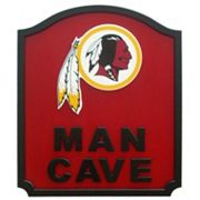 Washington Redskins Man Cave Shield Wall Art