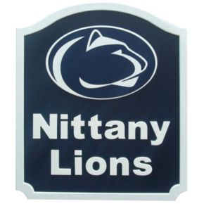 Penn State Nittany Lions Carved Team Shield Wall Art