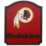 Washington Redskins Carved Team Shield Wall Art