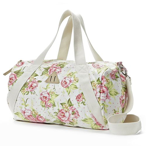 ee24a5eb4f57 Candie s® Floral Duffle Bag